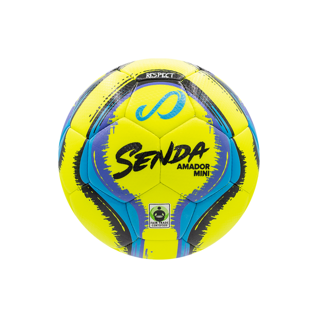 Amador Yellow Mini Soccer Ball