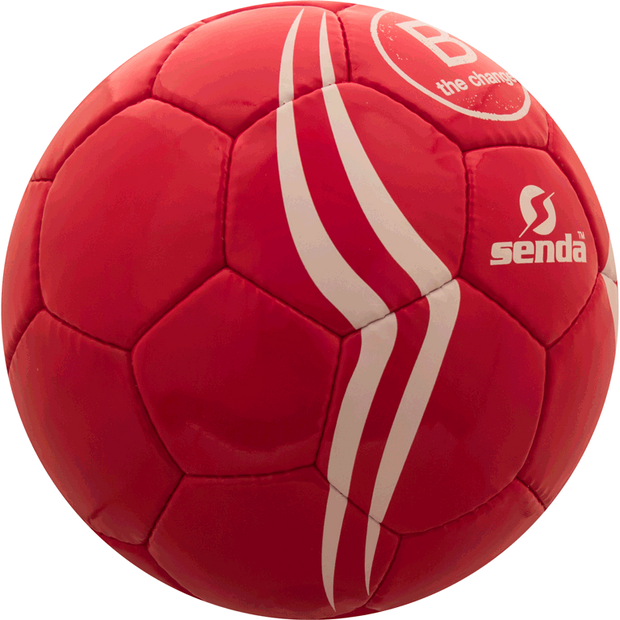 Side of Senda B Corporation soccer ball