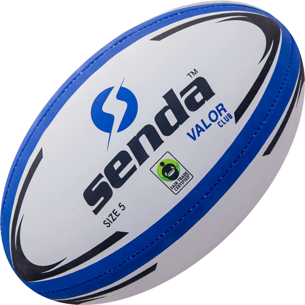 Senda Valor Training Rugby Ball front view