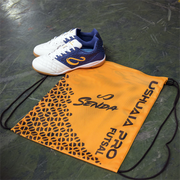 top view of the senda USHUAIA PRO sackpack and futsal shoes