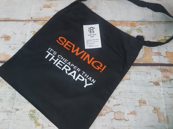 Tote Bag ~ Sewing It's Cheaper Than Therapy
