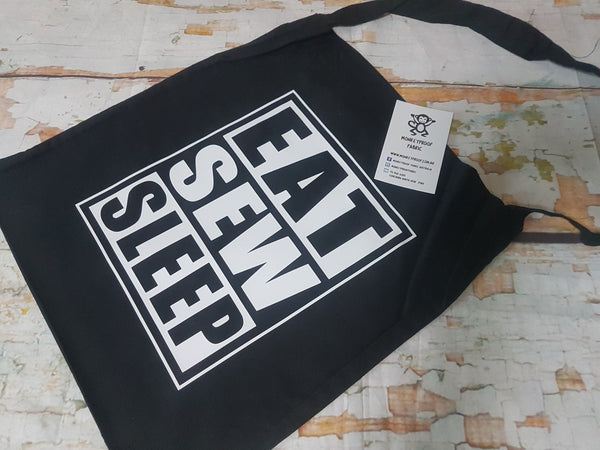 Tote Bag ~ Eat, Sew, Sleep