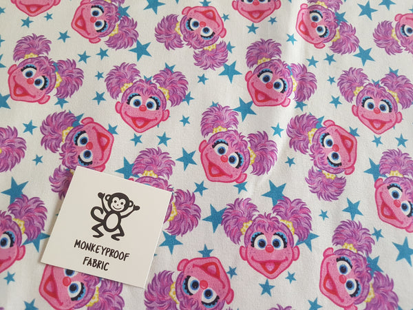 Abby Cadabby ~ Printed Cotton Lycra Fabric