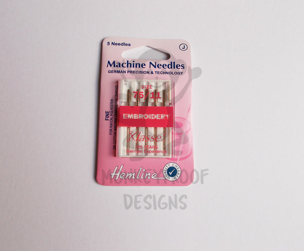 Klasse machine embroidery needles size monkeyproof