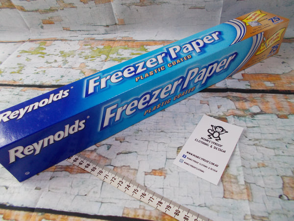 Reynolds Freezer Paper - Large Roll - 15.2M / 75 feet