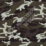 Army Camouflage ~ Printed Cotton Lycra Fabric