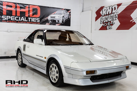 1988 Toyota MR2 Super Charged (SOLD)
