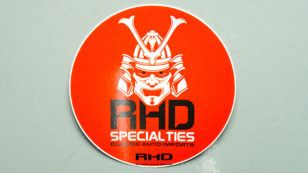 RHD Samurai Circle Decal
