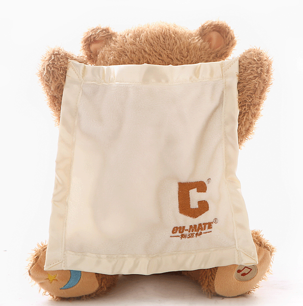 Peeka™- The Amazing Teddy Toy for babies!