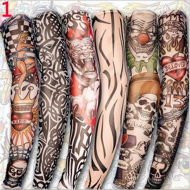 6 Slip On Tattoo Sleeves