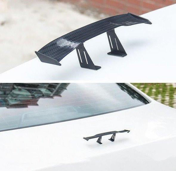 Car Carbon Fiber Mini Wing