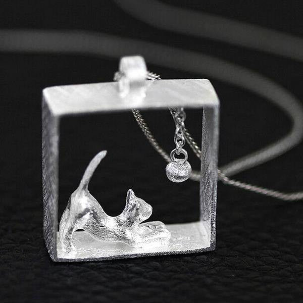 CattyBox™- Cat In The Box Necklace