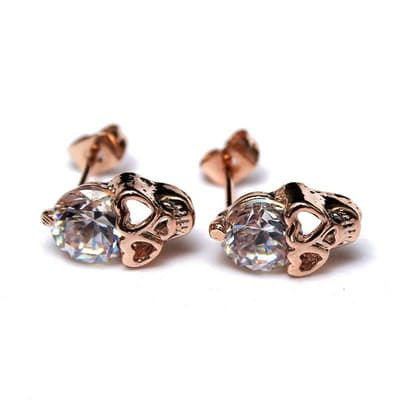 Fashion - Skull Stud Earrings