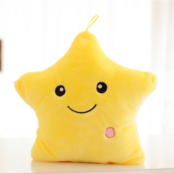 Home Decor - Glowing Star Pillow