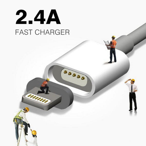 Magnetic Fast Charge Cable- IPhone And Android