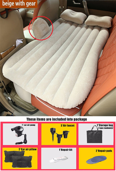 Multi-Functional Inflatable Car Mattress