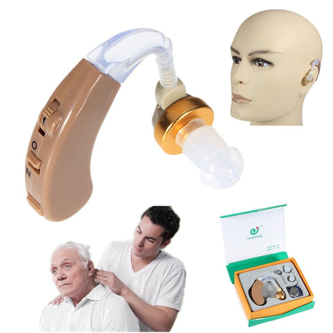 Hearing Aid Portable Small Mini In The Ear Invisible Best Sound Amplifier Adjustable Tone digital Hearing Aids Care