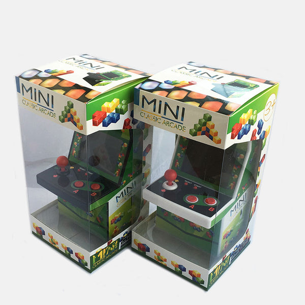 Mini Portable Arcade Joystick Game Machine Built-in 108 Video Games Classical Retro Style Gaming Console Handheld for NES Gifts