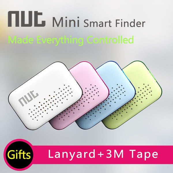 Original Nut Smart key Finder 2 3 Mini Itag Bluetooth Tracker Anti Lost Reminder Finder Pet Wallet Phone Finder for Smart phone