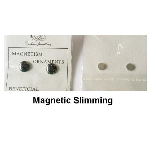 Magnetic Slimming Earrings Lose Weight Magnetic Health Bio Magnetic Therapy Magnet In Ear Eyesight Slimming Patch