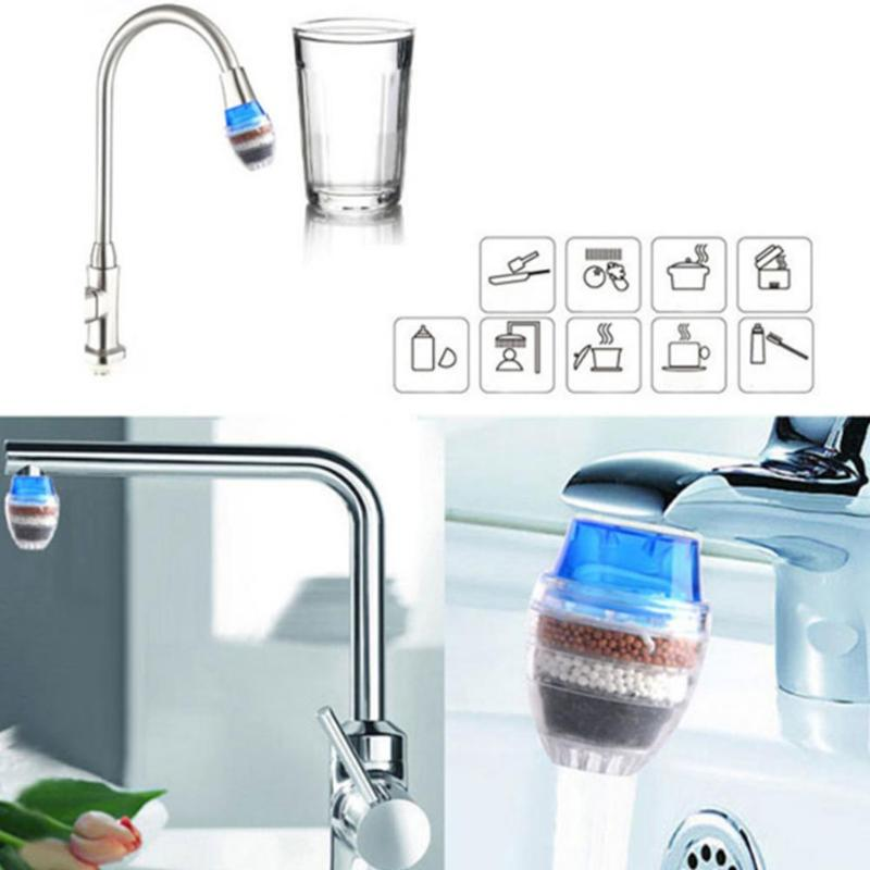 Random Color Household Activated Carbon Cartridge Faucet Tap Water Clean Purifier Filter Tool