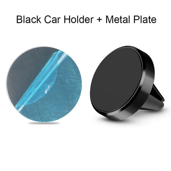 Magnetic Phone Holder on Xiaomi Pocophone F1 Huawei Car GPS Air Vent Mount Magnet Cell Phone Stand Holder for iPhone 7 Samsung