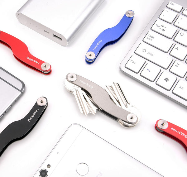 Smart Compact Pocket Key Holder and Keychain