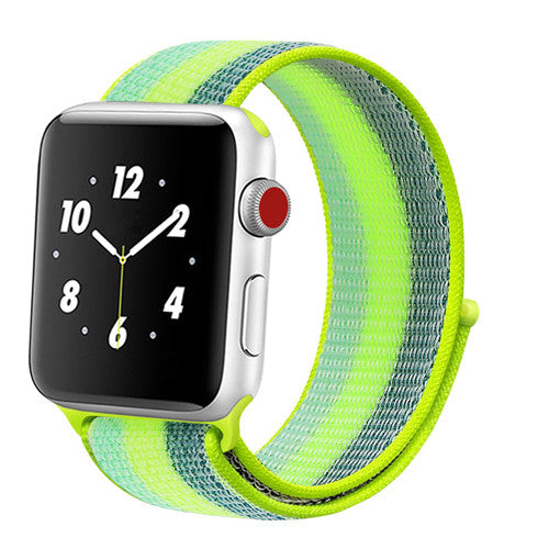 Sport loop Strap For Apple Watch band 42mm 38mm apple watch 4 3 band iwatch band 44mm 40mm correa pulseira 42 44 nylon watchband