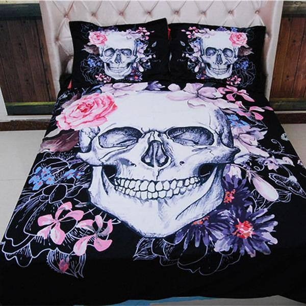 Skull Bedding Set