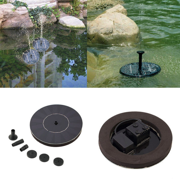 Solar Powered Fountain Kit - An Add-on To Your Garden!