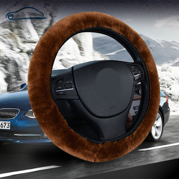 Thick Fur Steering Cover