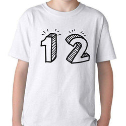 12th Birthday Shirt Gift for Boys & Girls