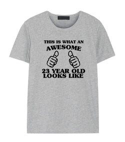 23rd Birthday Shirt, 23rd Birthday T-Shirt for Him & Her