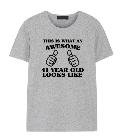 41st Birthday Shirt, 41st Birthday T-Shirt for Men & Women-WaryaTshirts