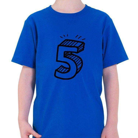 5th Birthday Shirt Gift for Boys & Girls-WaryaTshirts