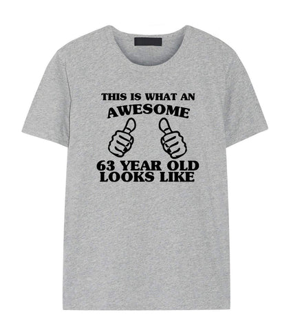 63rd Birthday Shirt, 63rd Birthday T-Shirt for Men & Women