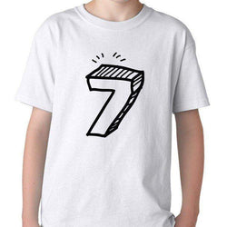 7th Birthday Shirt Gift for Boys & Girls