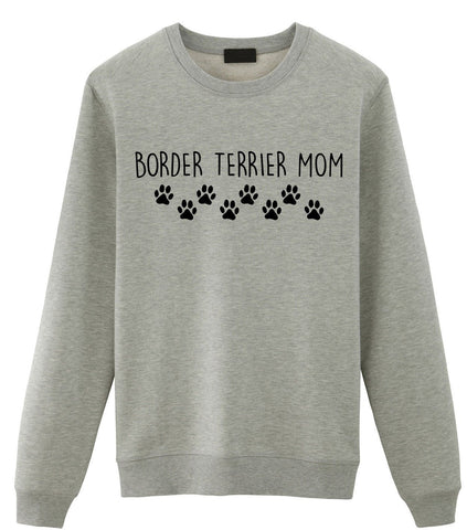 Border Terrier Mom Sweater, Border Terrier Lover Gift Womens Sweatshirt-WaryaTshirts