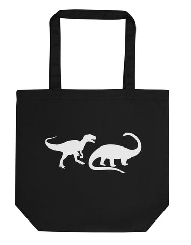 Dinosaur Bag, Dinosaurs Tote Bag | Short / Long Handle Bags-WaryaTshirts