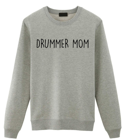 Drummer Mom Sweater Christmas Gift Mothers Day Womens Drumming Sweatshirt-WaryaTshirts