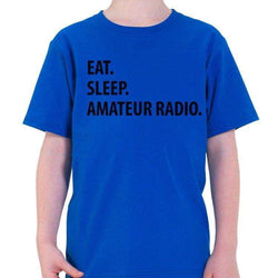 Eat Sleep Amateur Radio T-Shirt Kids