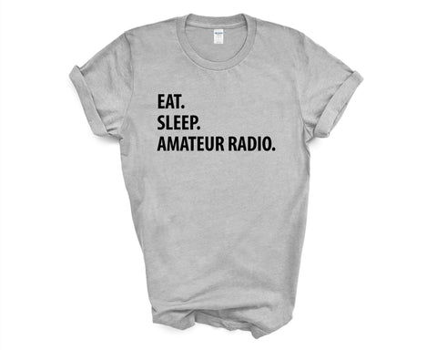 Eat Sleep Amateur Radio T-Shirt