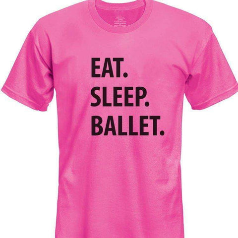 Eat Sleep Ballet T-Shirt Kids-WaryaTshirts