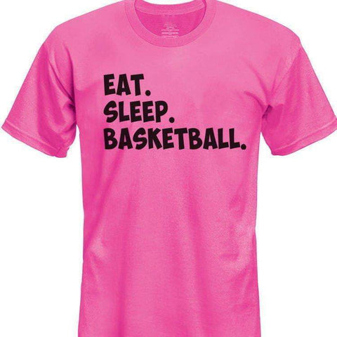 Eat Sleep Basketball t shirt, Gift for Boys Girls Teens-WaryaTshirts