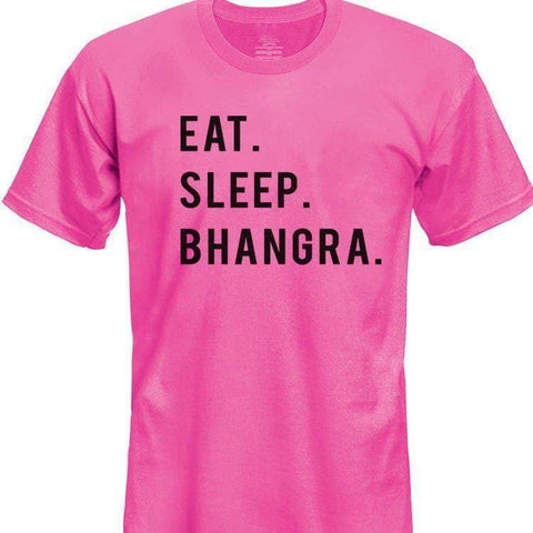 Eat Sleep Bhangra T-Shirt Boys Girls Teens-WaryaTshirts