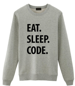 Eat Sleep Code Sweater
