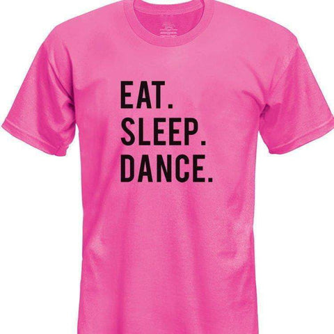 Eat Sleep Dance T-Shirt Kids-WaryaTshirts