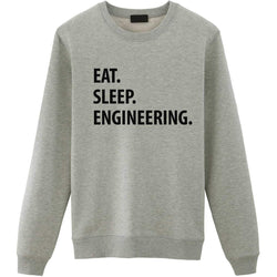 Eat Sleep Engineering Sweater