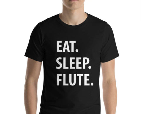 Eat Sleep Flute T-Shirt-WaryaTshirts
