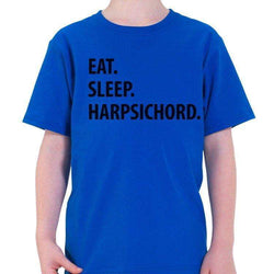 Eat Sleep Harpsichord T-Shirt Kids